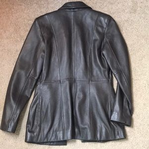 Cache Jackets & Coats - Sassy Brown Leather Jacket sz 4